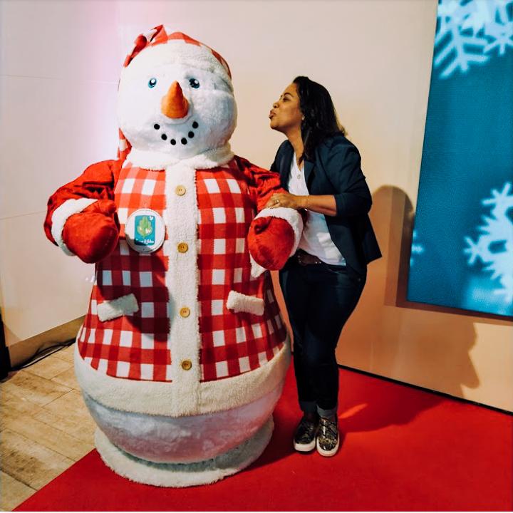 Natal Parque D.Pedro Shopping / Papai Noel Digital e Muitas Atrações Boneco de Neve