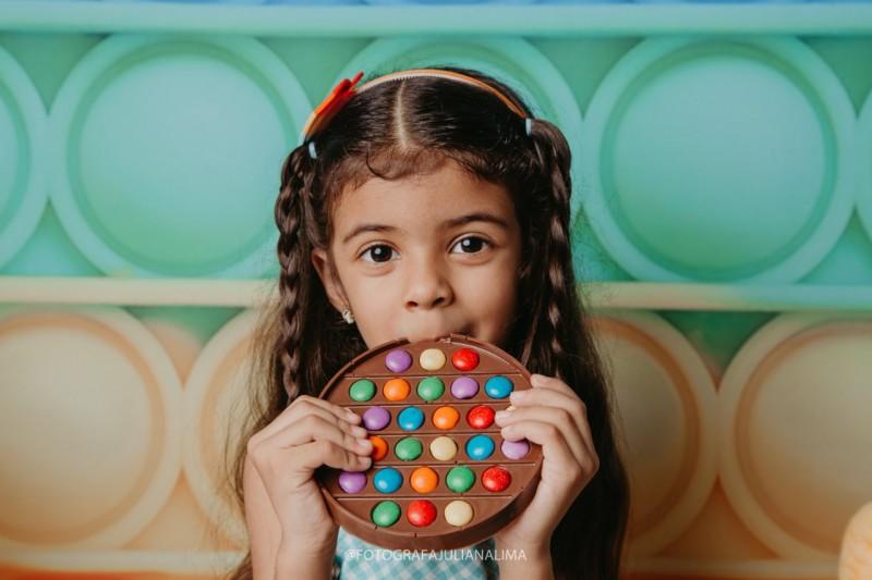 Dia das Crianças Pop It   Estúdio Fotográfico Juliana Lima Chocolate