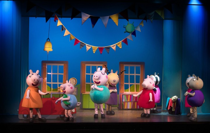 Atração infantil em Campinas | Peppa Pig