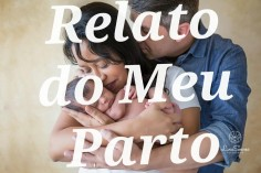 Blog Materno | Relato Do Meu Parto