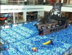 Campinas Shopping | Aventura Pirata Mar de Bolinhas
