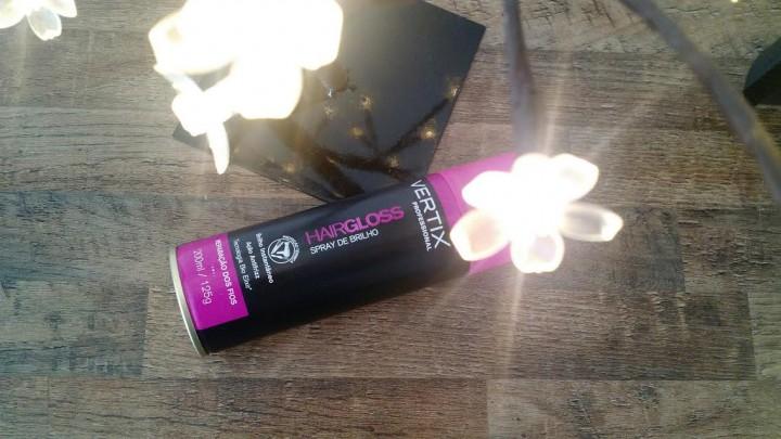 Dica do Dia | Spray de Brilho Hairgloss Vertix