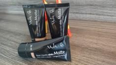 Maquiagem Feminina | Base Efeito Matte Vult