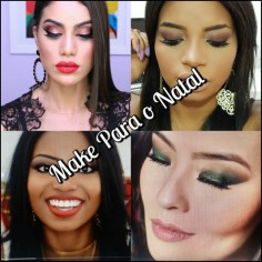 Maquiagem | Make Para o Natal