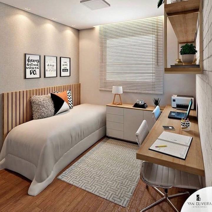 Trabalhar em Casa | Inspirações de Home Office Pequeno
